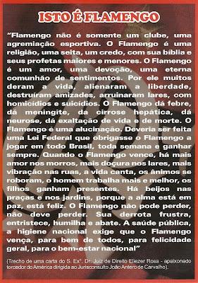 Gigante Rubro Negro Frases E Textos Sobre O Flamengo
