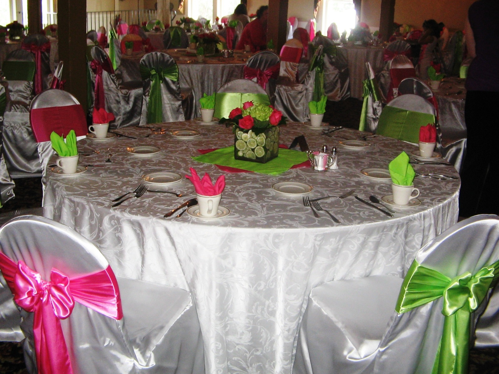 Pink And Lime Green Wedding Wwwtopsimagescom