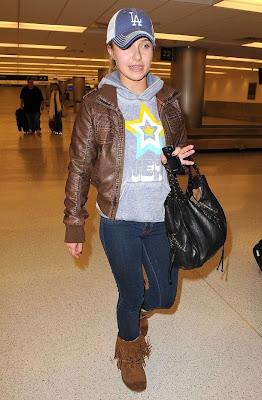 Hayden Panettiere's Airport Style