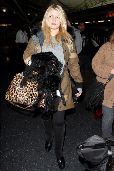 693753f78347 Steal Their Style: Steal The Style - Jessica Simpson's Leopard Print ...