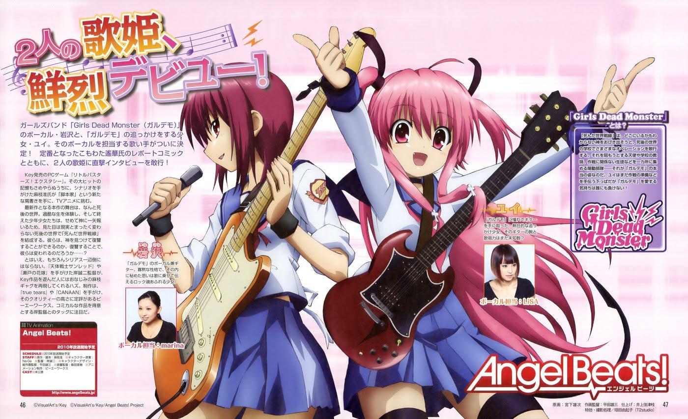 Anime Otaku Reviewers Angel Beats Anime Recommendation