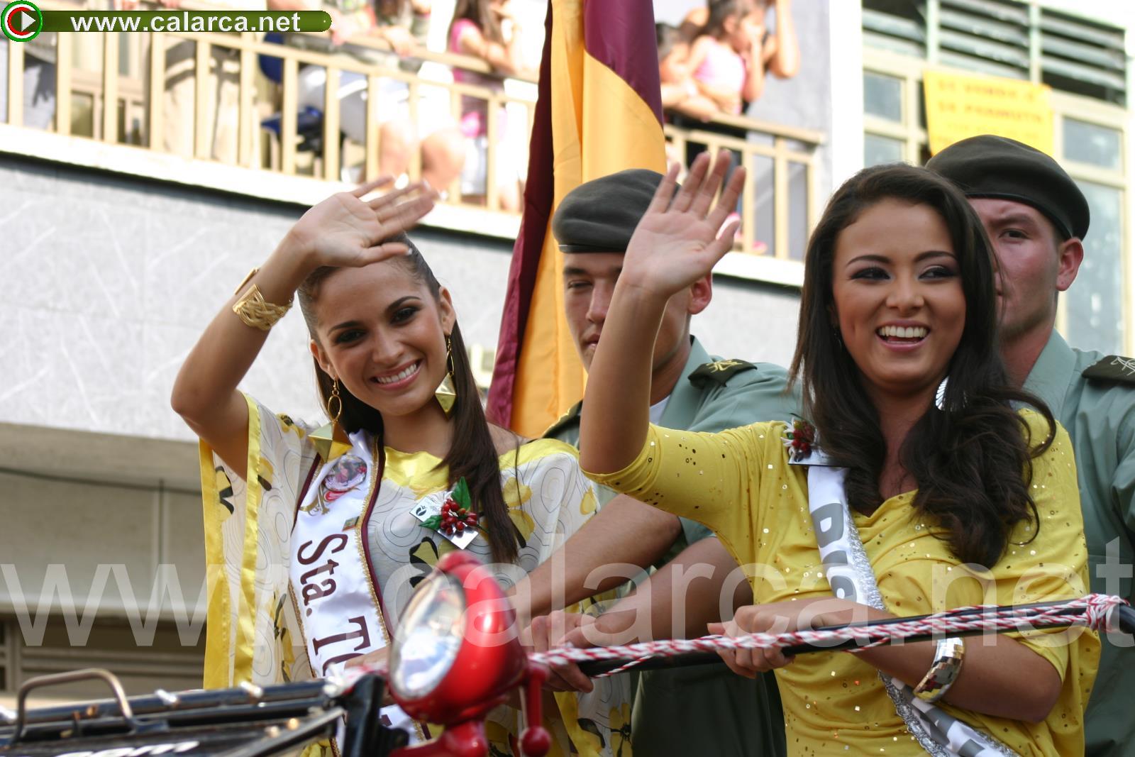 Tolima-Andrea Lizeth Lizarazo; Risaralda-Andrea Marcela Agudelo Ramírez