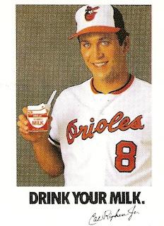 Orioles Card O The Day Cal Ripken Jr 1994 Milk Oddball
