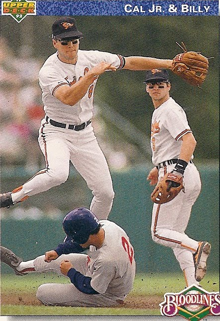 Orioles Card O The Day Cal Ripken Jr And Billy Ripken 1992