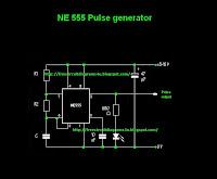 NE 555 Pulse generator   Diagram Diagosis