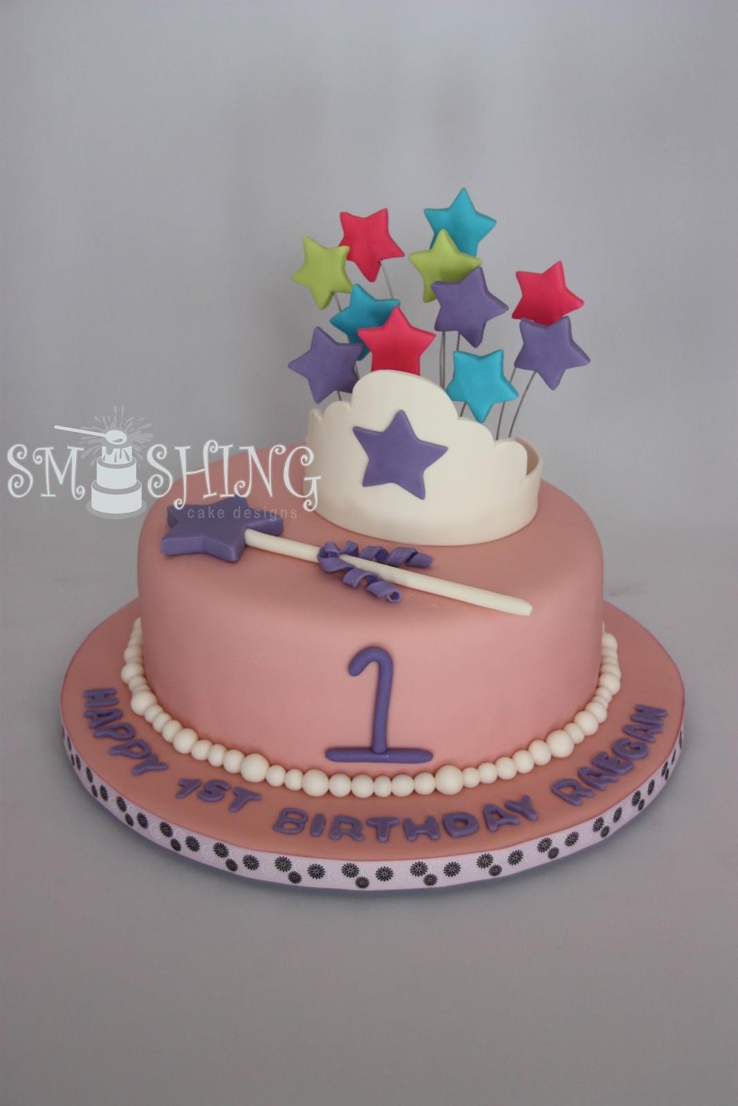 Smashing Cake Designs 1st Birthday Cake