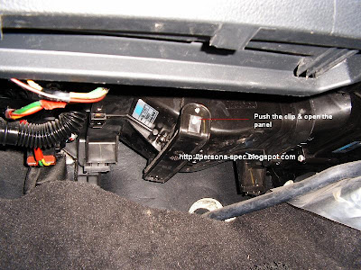 Proton Persona: Clean Your Air Cond Blower Filter