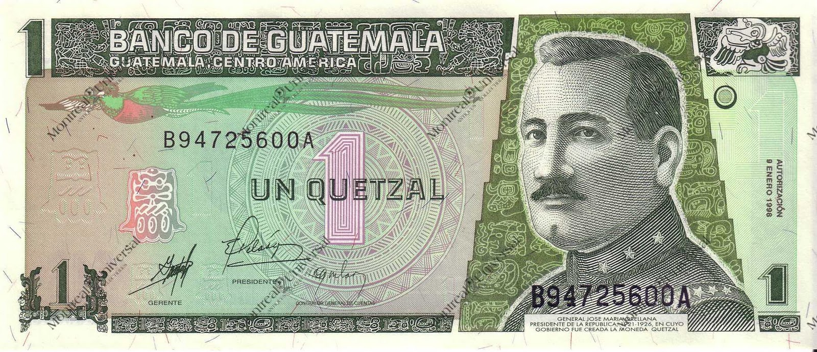 Today The Exchange Rate For Teh Quetzal Is
