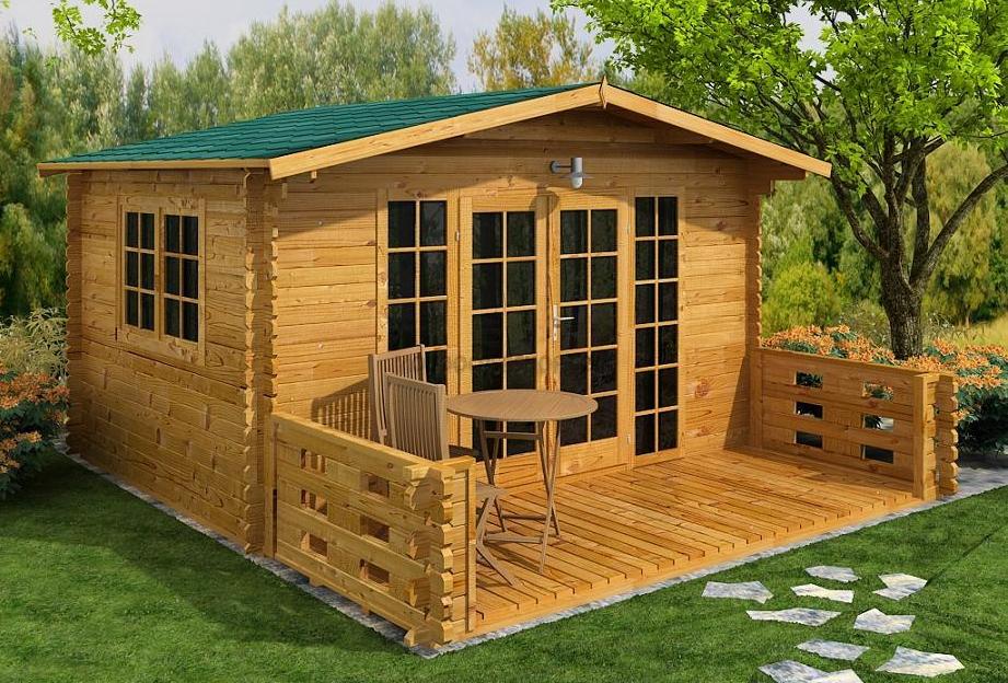 Casette in legno for Casa legno ikea