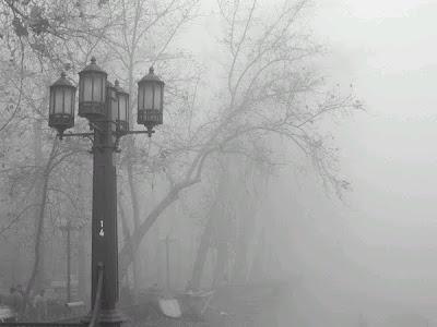 Resultado de imagen de dia con niebla desde la ventana