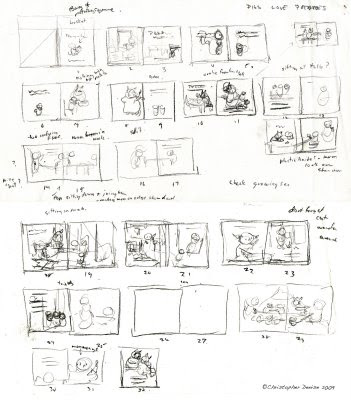 Christopher Denise Bookmaps and Storyboards