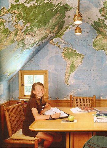 Olkd Study Room: No Doors: The Study Room