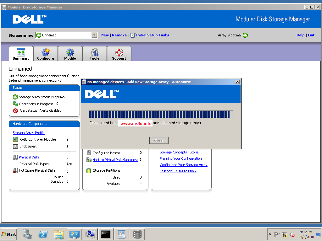Dell storage manager Manual