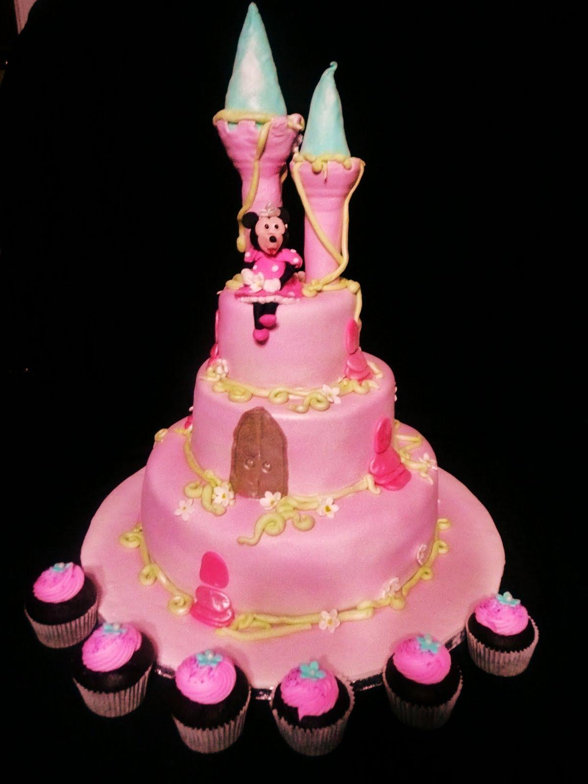 Baking With Roxana S Cakes Princess Castle Birthday Cake