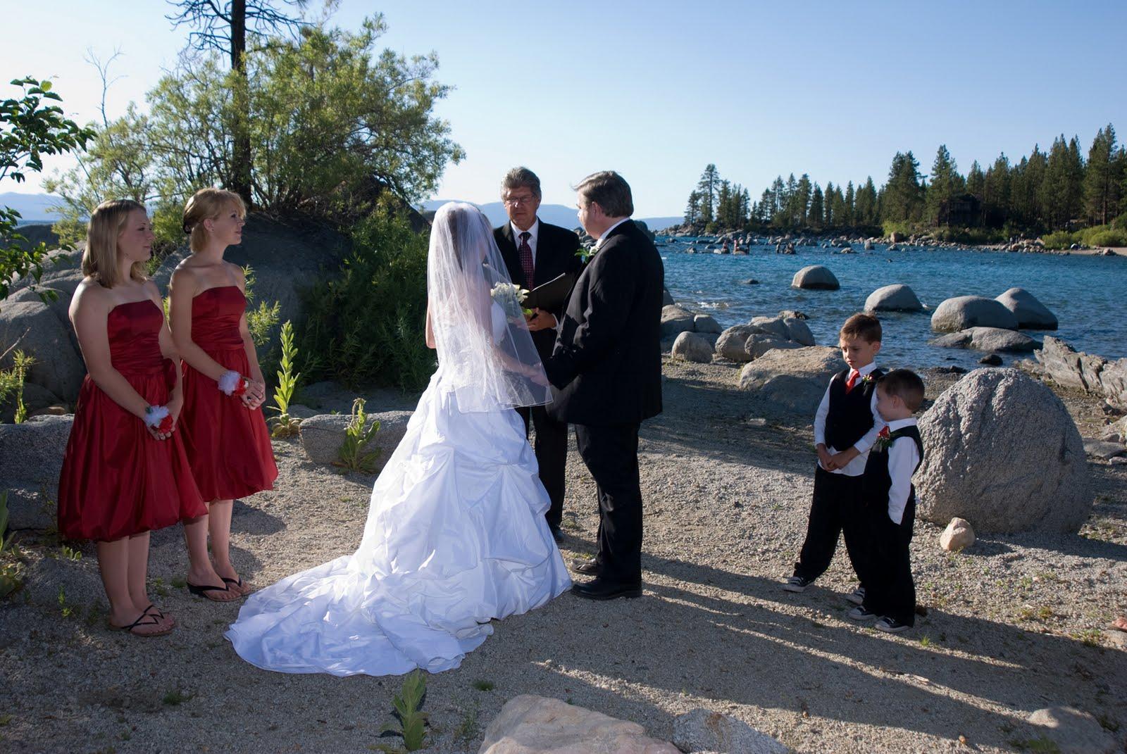 Lake Tahoe Weddings: Lake Tahoe Wedding Locations
