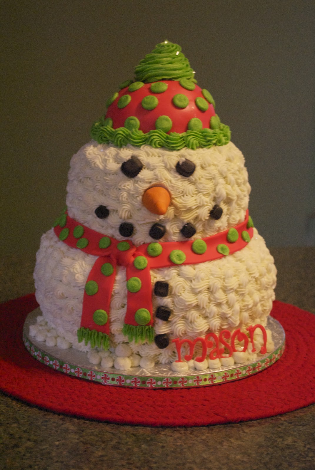 Country Cupboard Cakes Mr Snowman