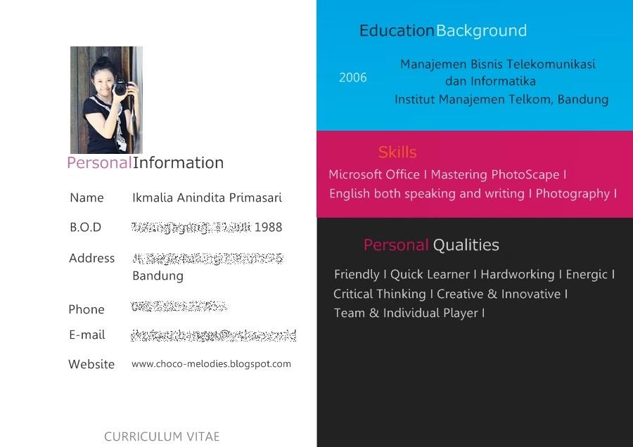 Curriculum Vitae Ibh Chur Vinpearl Baidai Info