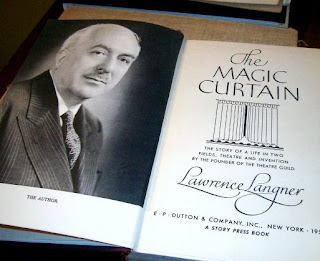 The Magic Curtain by Langner, Lawrence, Langner, Lawrence