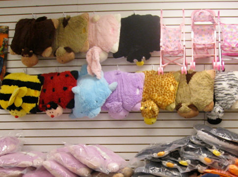 Queens Crap: Beware of fake Pillow Pets