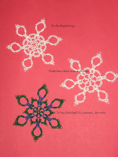 Journey of a snowflake found on wandasknottythoughts