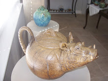 Warthog Teapot, by Laddy Barnett, 2009
