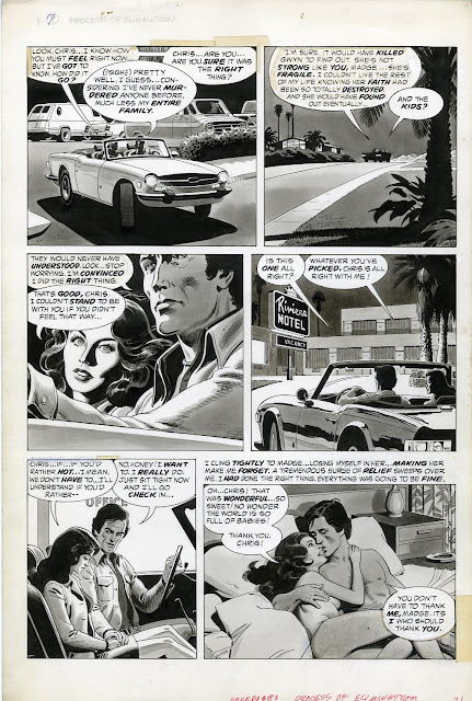 Original Art Stories The Creepy Russ Heath