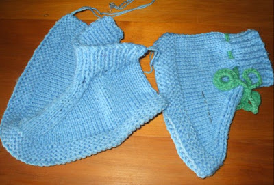 Our slice of heaven: Knitting bedsocks