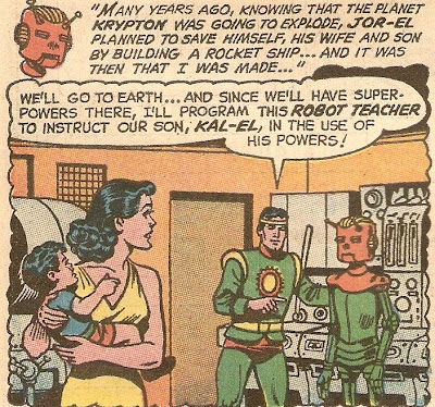 Oh, Jor-El, if you had spent a little less time programming sexist robots, and more time saving Krypton...