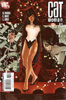 And sexily clad Zatanna gets featured on the cover because?????