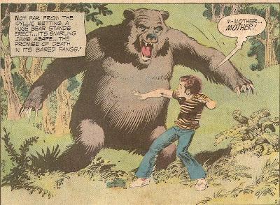 Admit it...it looks like a guy in a bear suit!
