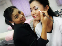 make up session at academy