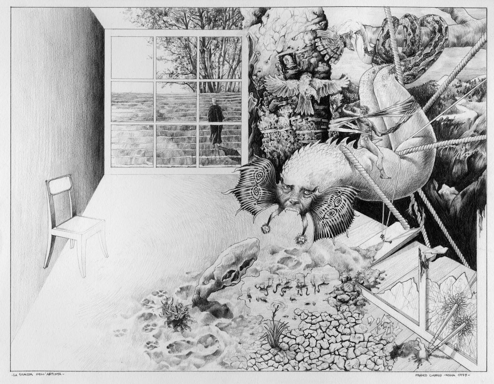 Nostradannus avventure e presa in girum la stanza for Disegno stanza