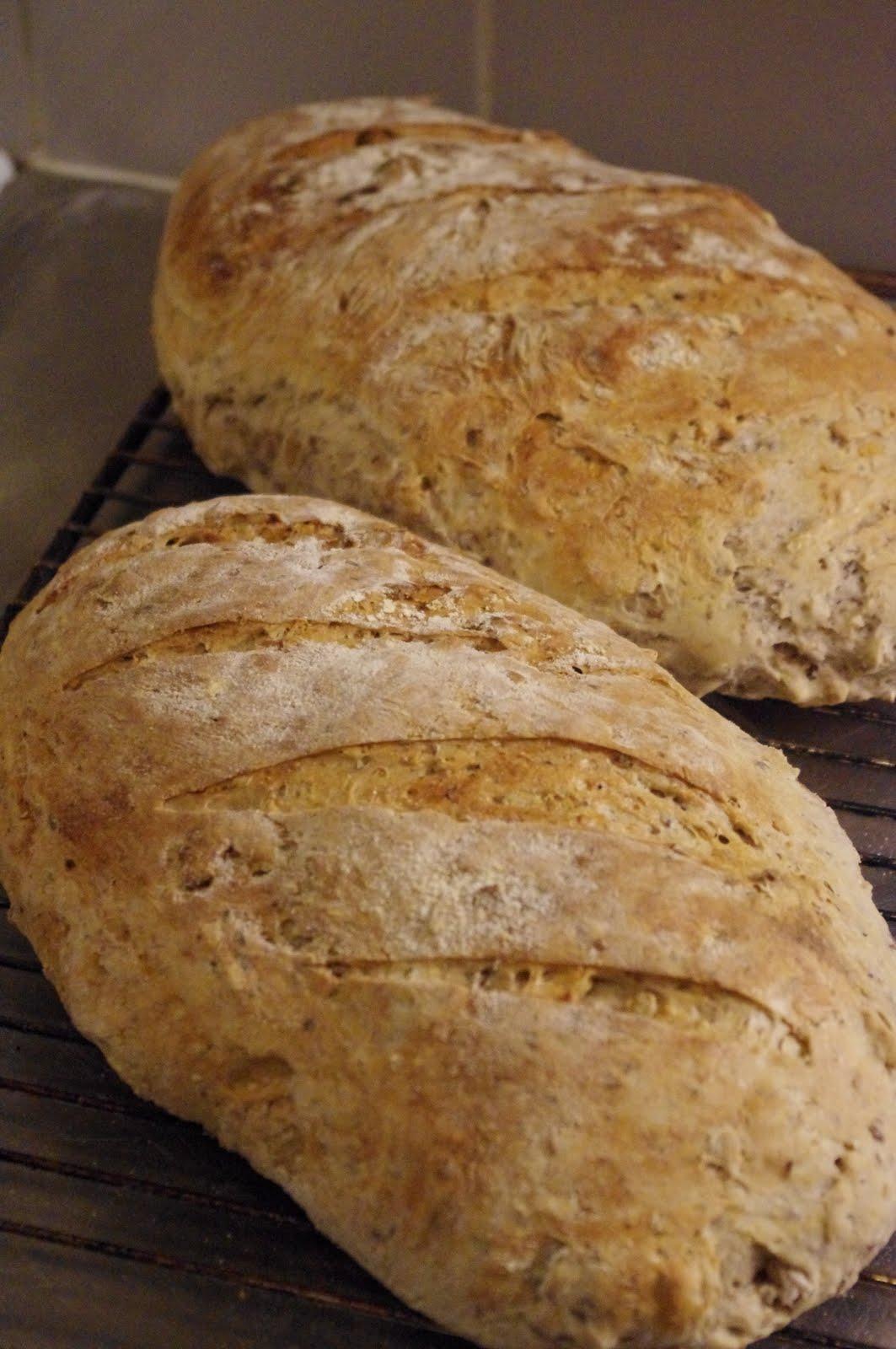 recept hårt bröd