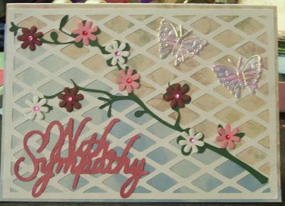 Crafting Creations by Amanda!: Sympathy Card