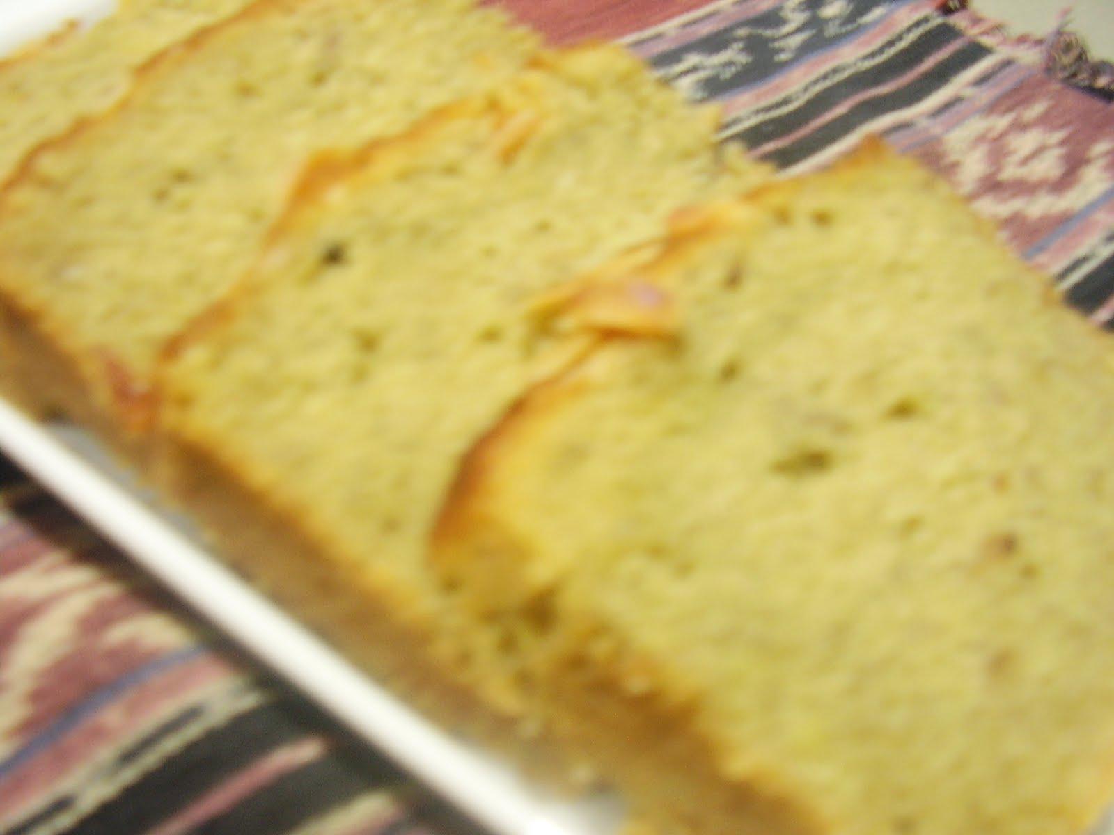 Resep Banana Cake Khas Jepang: CAKE PISANG/BANANA CAKE
