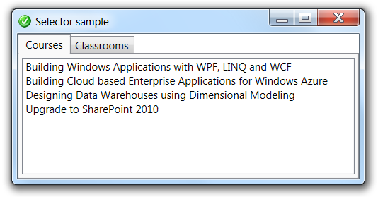 Diederik Krols | In WPF, SelectionChanged does not mean that