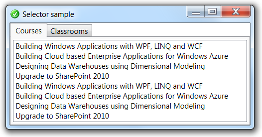Diederik Krols | In WPF, SelectionChanged does not mean that the
