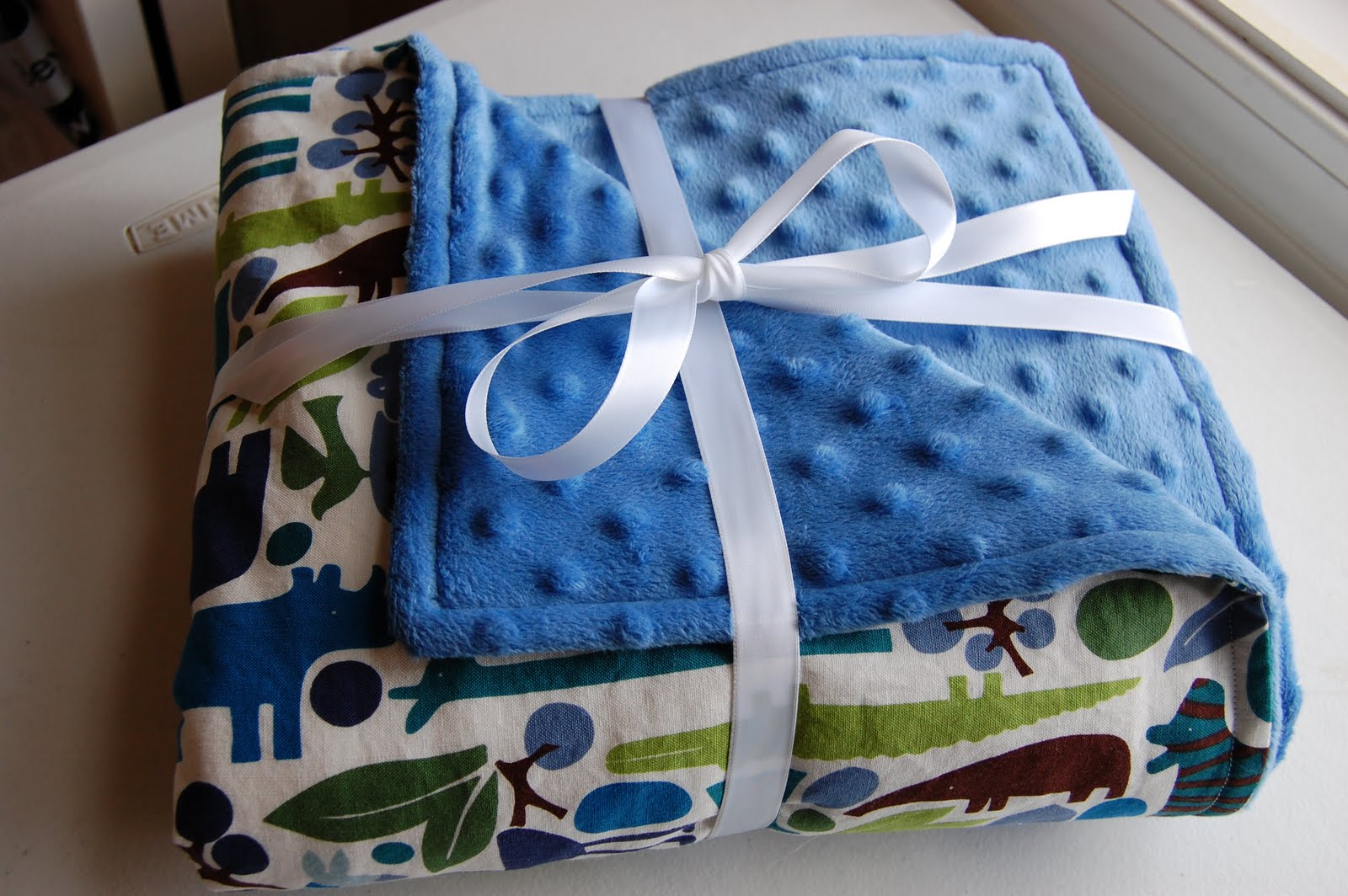 How To Make A Baby Blanket Mama Stellato Simple Baby Blanket Tutorial