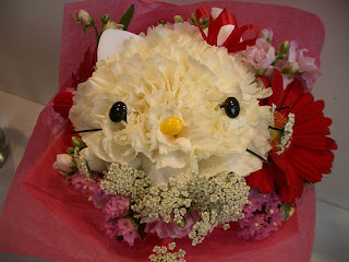 Hello Kitty floral