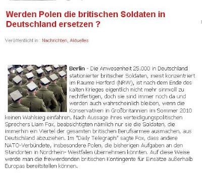 politprofiler sollen polnische soldaten die britische besatzungsarbeit in nrw bernehmen. Black Bedroom Furniture Sets. Home Design Ideas