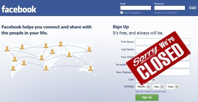 Facebook Shutting Down On March 15th