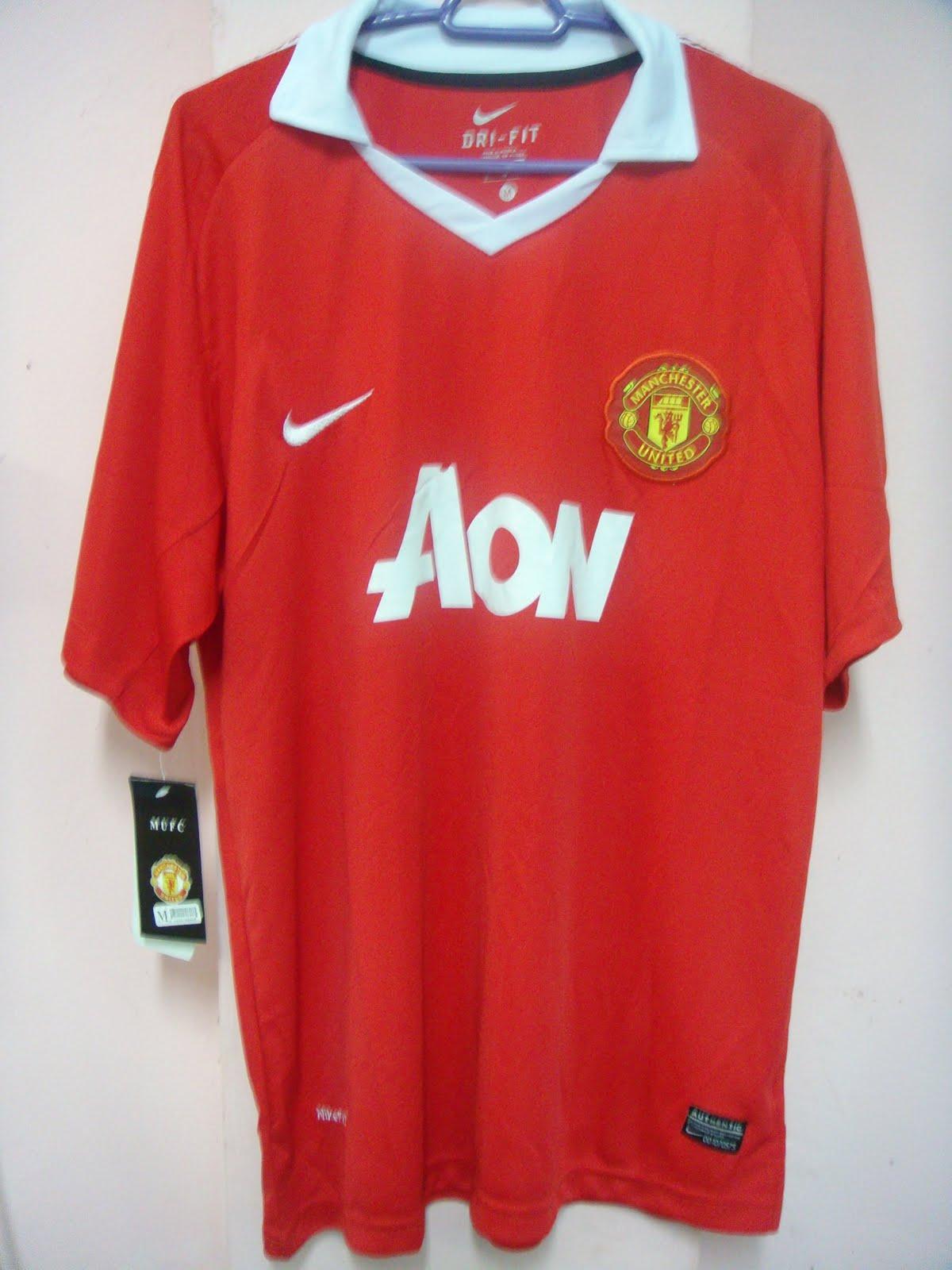sneakers for cheap 497e3 4827d Eman E-Jersey Blogshop: Manchester United New Kit 2010/2011 ...