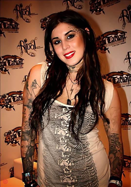 1638bc1b5 High Voltage tattoo. Hollywood. Kat Kat Von D's Tattoos Photos