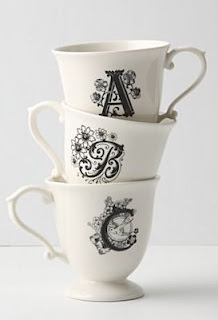 monogrammed mug letter quot k quot tea cup zazzle inspired by the retired in 570