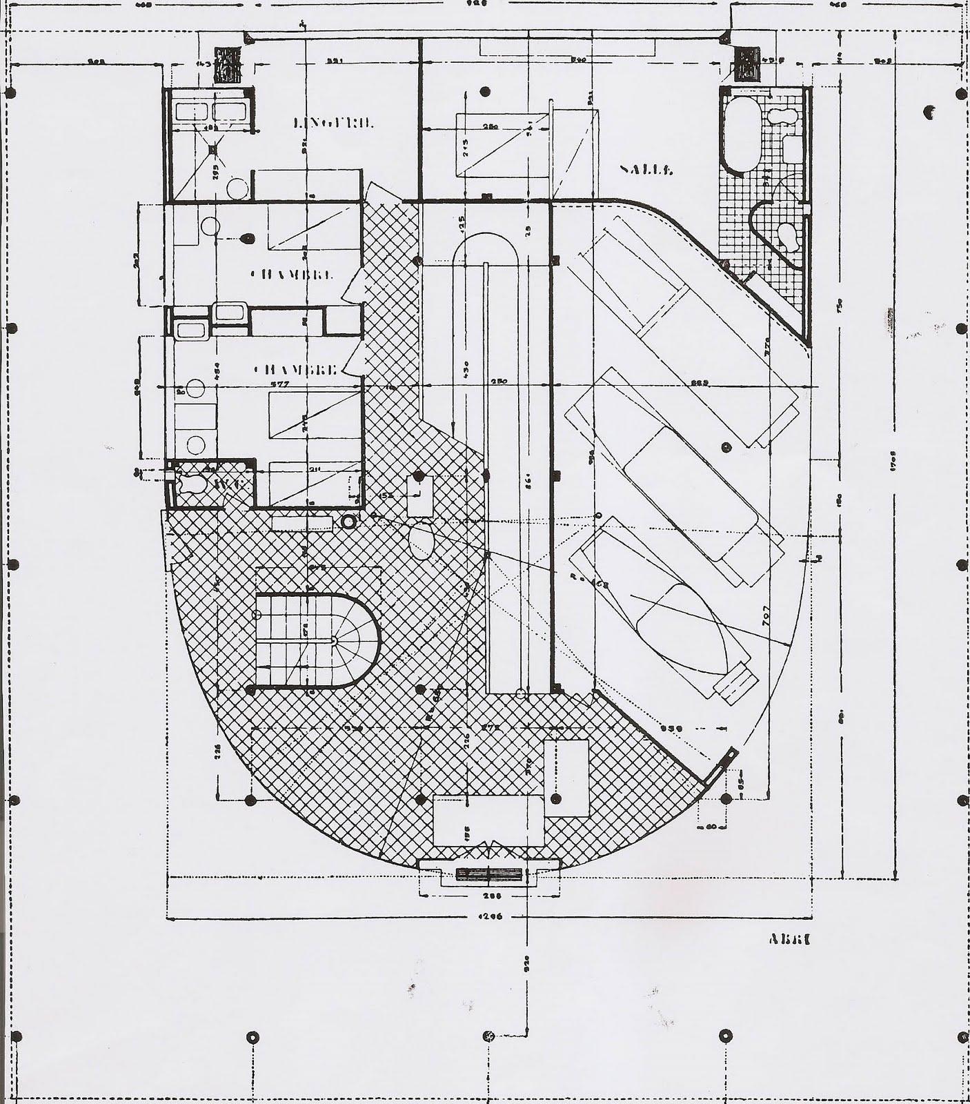 Linh Nguyen Arch1201 Villa Savoye Plans