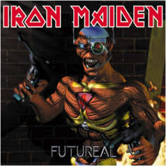 Portada Iron Maiden futureal