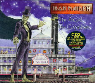 Portada Iron Maiden the angel and the gambler alternativa