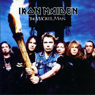Portada Iron Maiden the wicker man