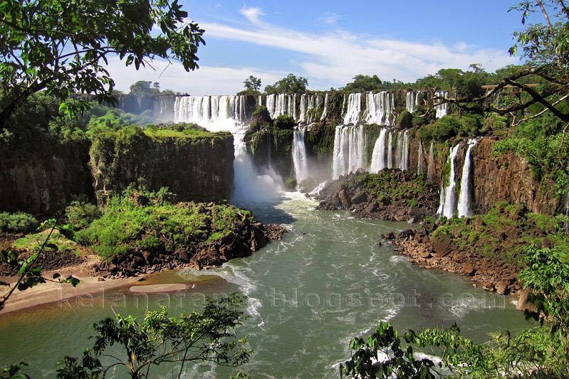 Pemandangan Indah - Gambar Air Terjun Iguazu
