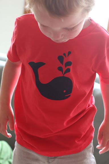 Diy Whale Tee Freezer Stencil Shirt Say Yes